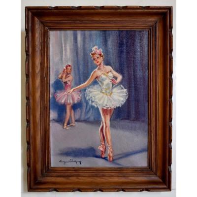 Eugène Leliepvre 1908 - 2013 , Danseuses, danse  Classique , Jeunes Ballerines En Tutu.