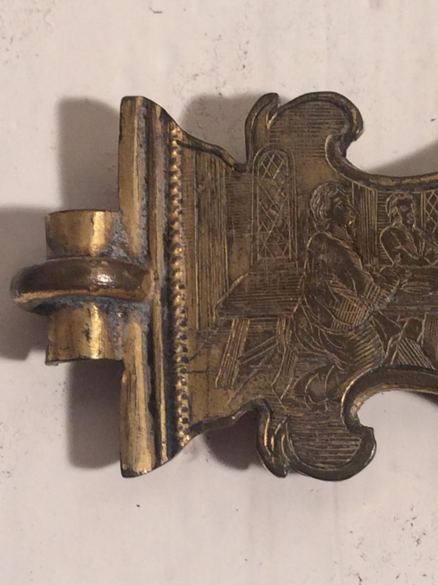 Fermoir de bible epoque renaissance haute epoque objets for Haute renaissance