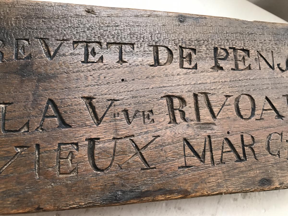 Box Of Notary Brittany 18eme Folk Art
