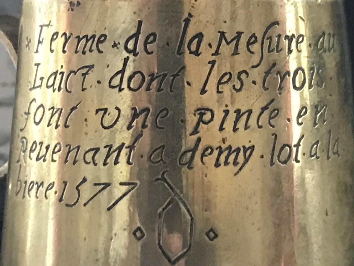Measure For The Beer Of 1577 Haute Epoque