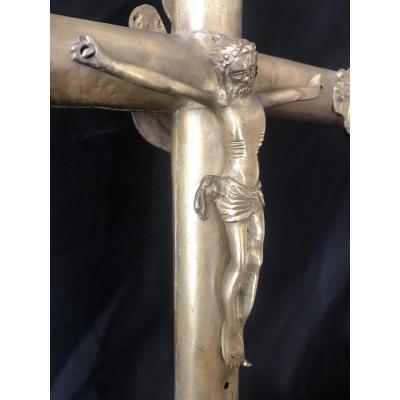 Croix De Procession Gothique Haute Epoque