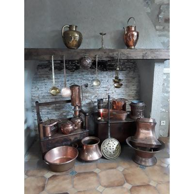 Copper Cooking Lot
