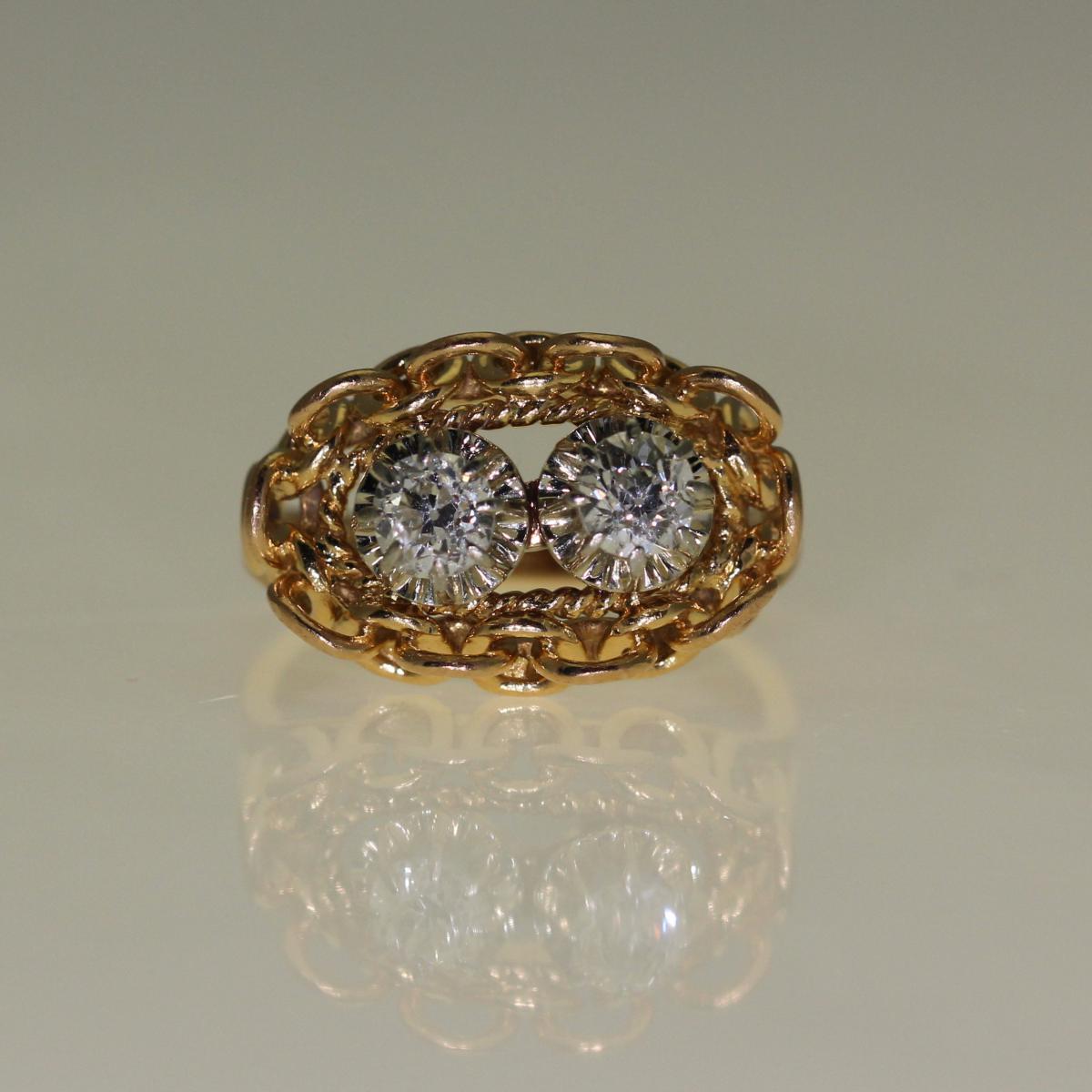 Bague Diamants 1960.