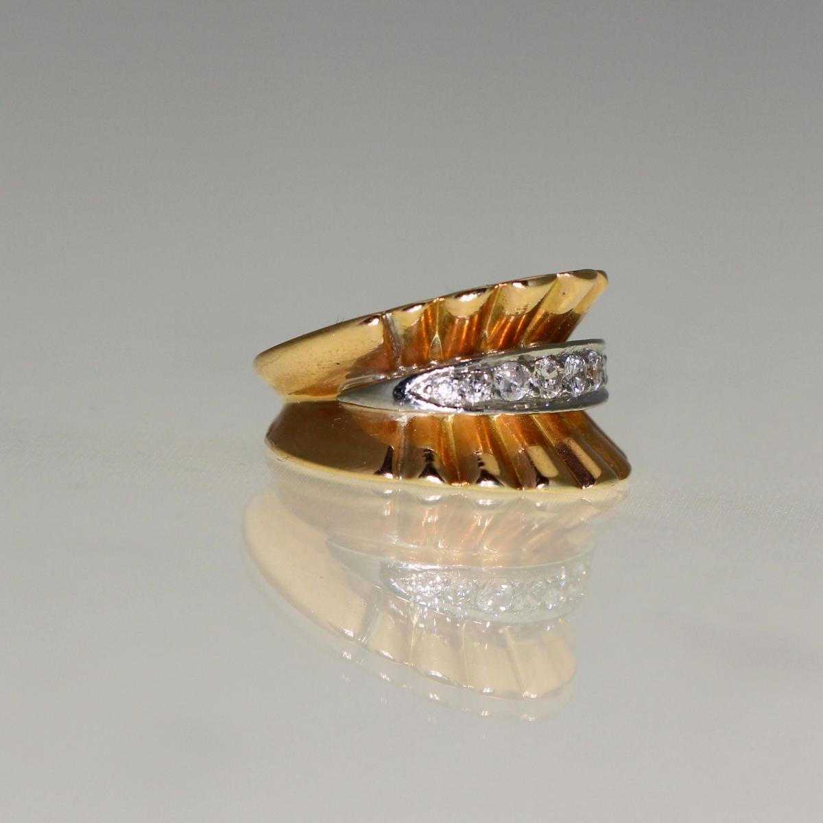 Bague Diamants 1950-photo-3