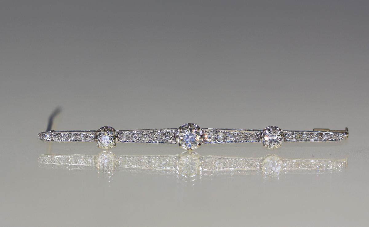Broche Diamants 1930