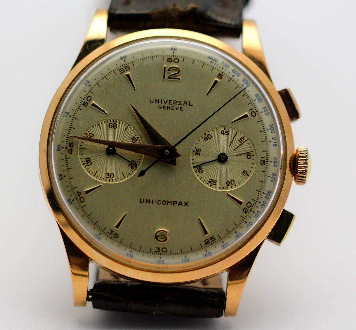 Universal Geneve Bracelet Watch