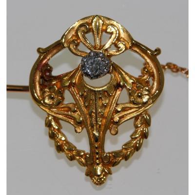 Broche Diamant 1910-1920.