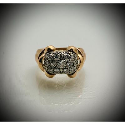 Bague Diamants 1950