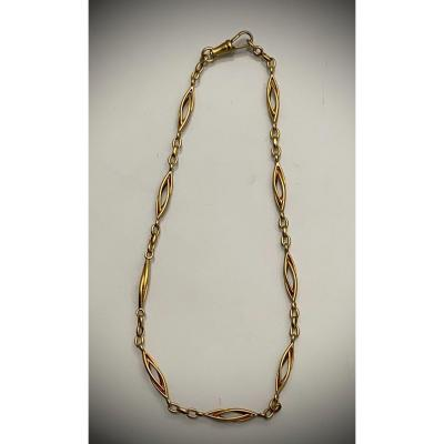 Collier Or 1900