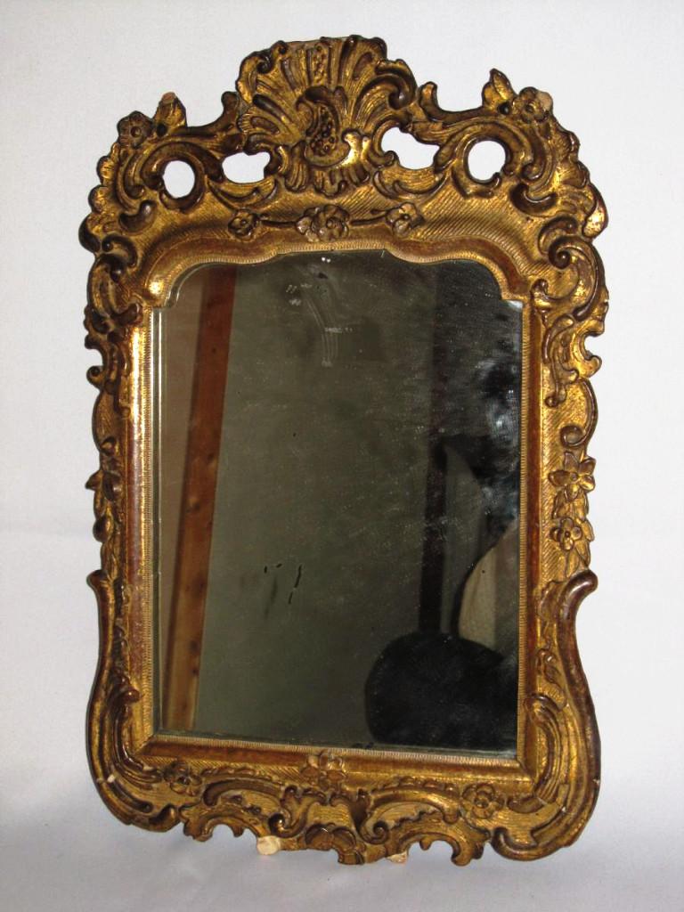Miroir D 39 Entre Deux En Bois Et Stuc Dor Style Regence