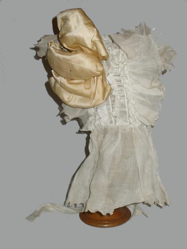 Headdress / Beanie / Hat First Empire Time, Clothing Old Fashion Chiffon Cotton Nineteenth
