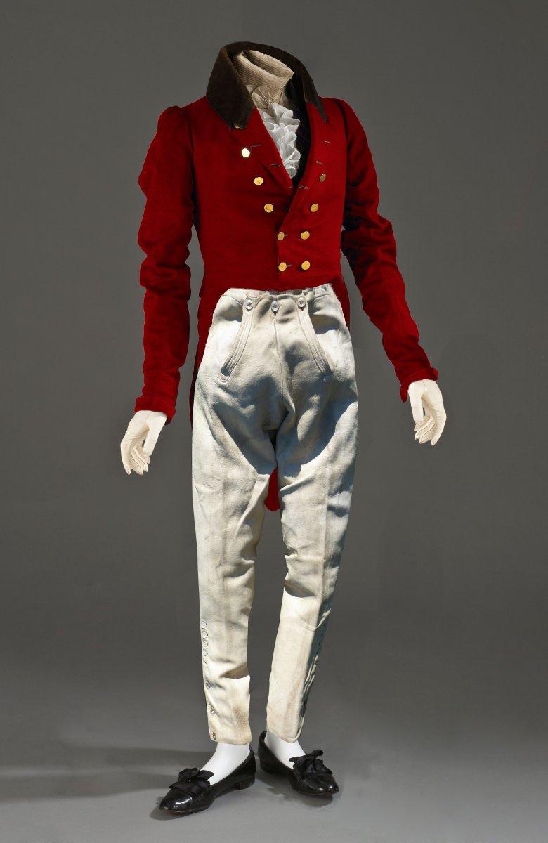 Antique Leather Trousers Regency Era Jodhpur Johnny Walker 1820 Hunting