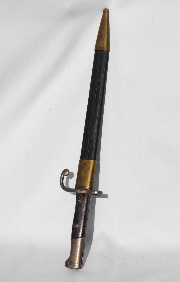 Baïonnette Avec Fourreau Modèle 71/84 Pour Mauser Baionnette Ww1-photo-3