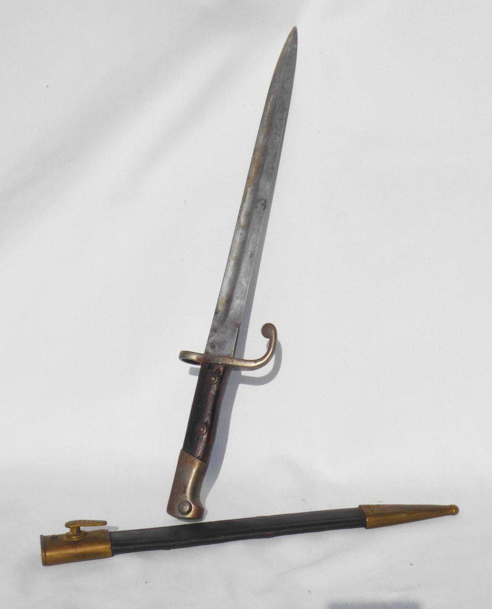 Baïonnette Avec Fourreau Modèle 71/84 Pour Mauser Baionnette Ww1