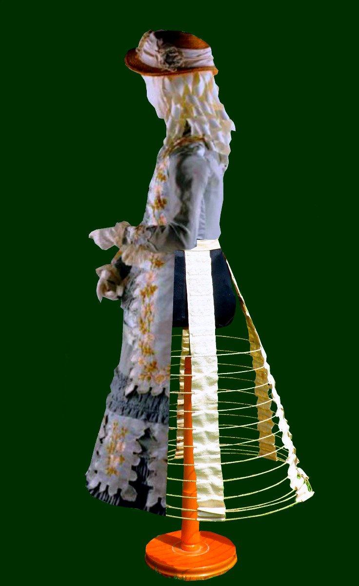 Crinoline De Fillette / Enfant époque Napoléon III , Cage XIXe , Lingerie / Corset Costume Robe