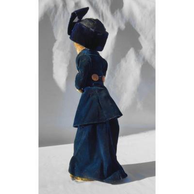 Poupée De Mode Mannequin Début Du XXe Siecle 1910 Magasin / Vitrine Désirat Lafitte Poupee