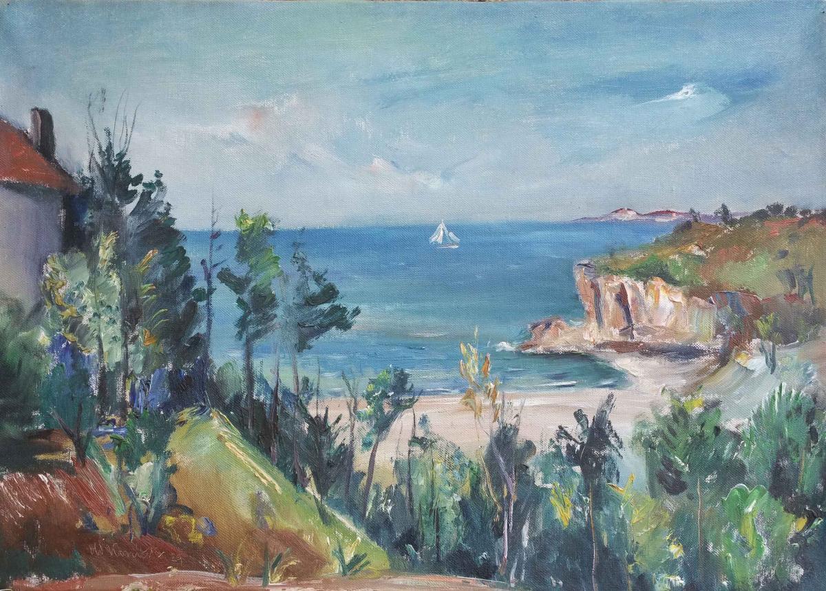 The Sea - Oldrich Konicek (1886-1932)