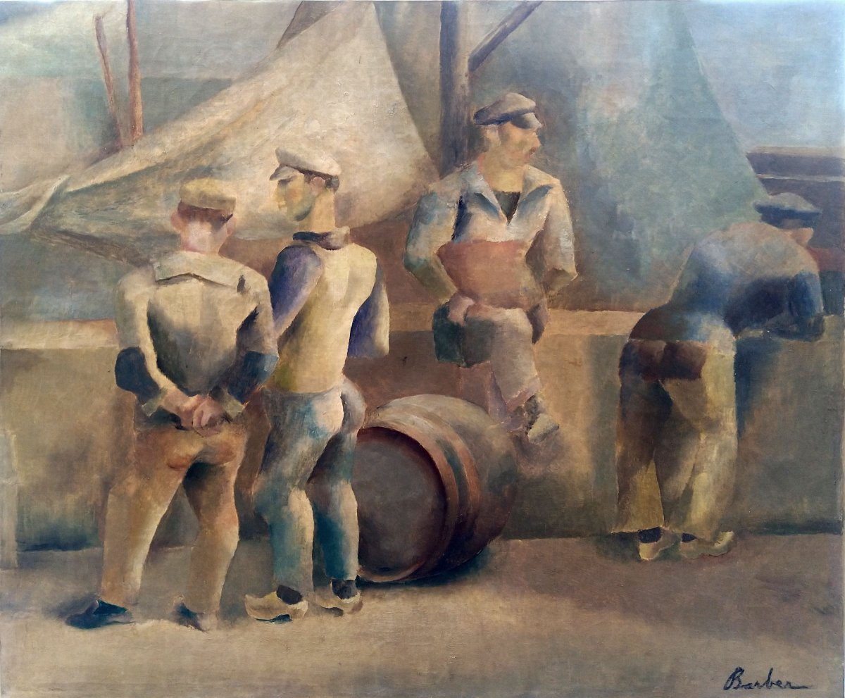 The Sailors - John Barber (1898-1965)