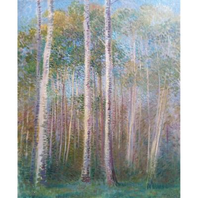 Forêt - Ernst Oppler (1867-1929)
