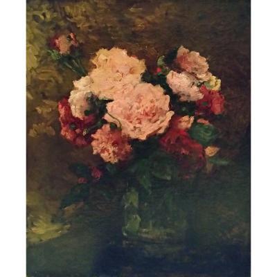 Roses - Albert Lebourg (1849-1928)