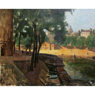 Ile St Louis - Alexandre Urbain (1875-1953)