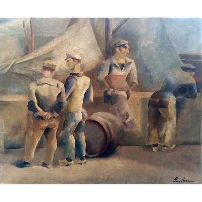 Les Marins - John Barber (1898-1965)