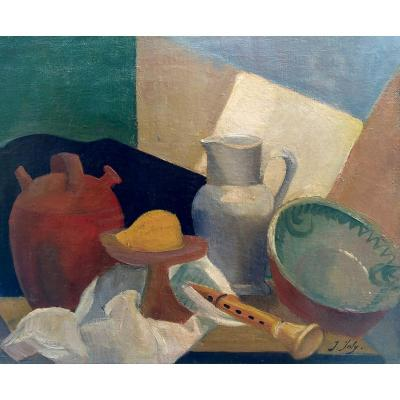 Cubist Composition - Jeanne Jolly (xx)