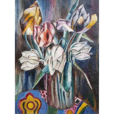 Bouquet By Jean Du Marboré (1896-1933)