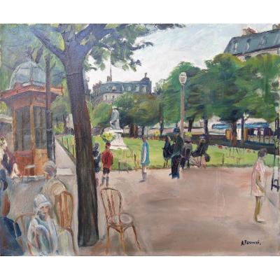 Square d'Anvers - Antoine Ferrari (1910-1995)