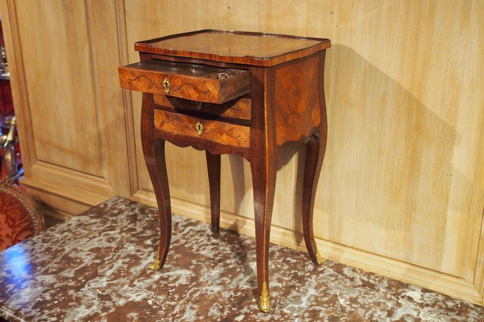 Table à toutes faces d'époque Louis XV-photo-2