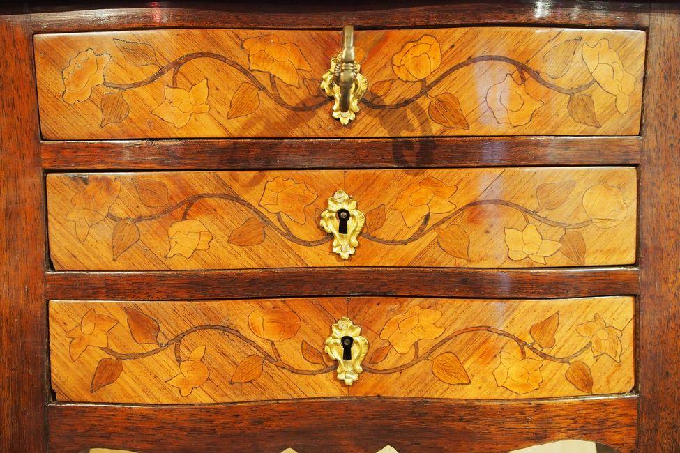 Table à toutes faces d'époque Louis XV-photo-3
