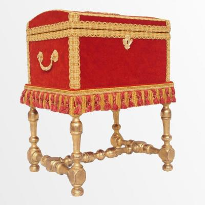 Regency Salon Kit Forming An Alcohol Box Or A Removable Shawl Box