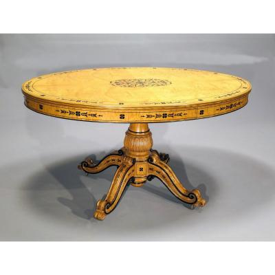 Charles X Pedestal Table