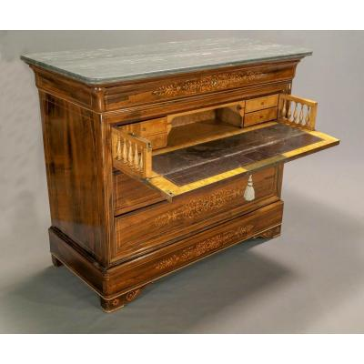 Commode Secrétaire Charles X