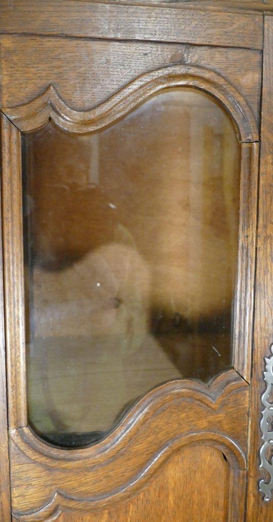 Louis XV Style Miniature Showcase Cabinet, H 96.5 Cm-photo-1