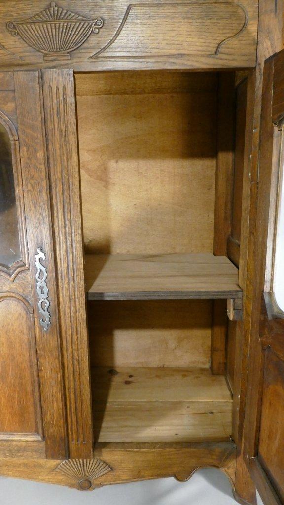 Louis XV Style Miniature Showcase Cabinet, H 96.5 Cm-photo-2