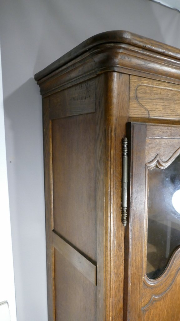 Louis XV Style Miniature Showcase Cabinet, H 96.5 Cm-photo-5
