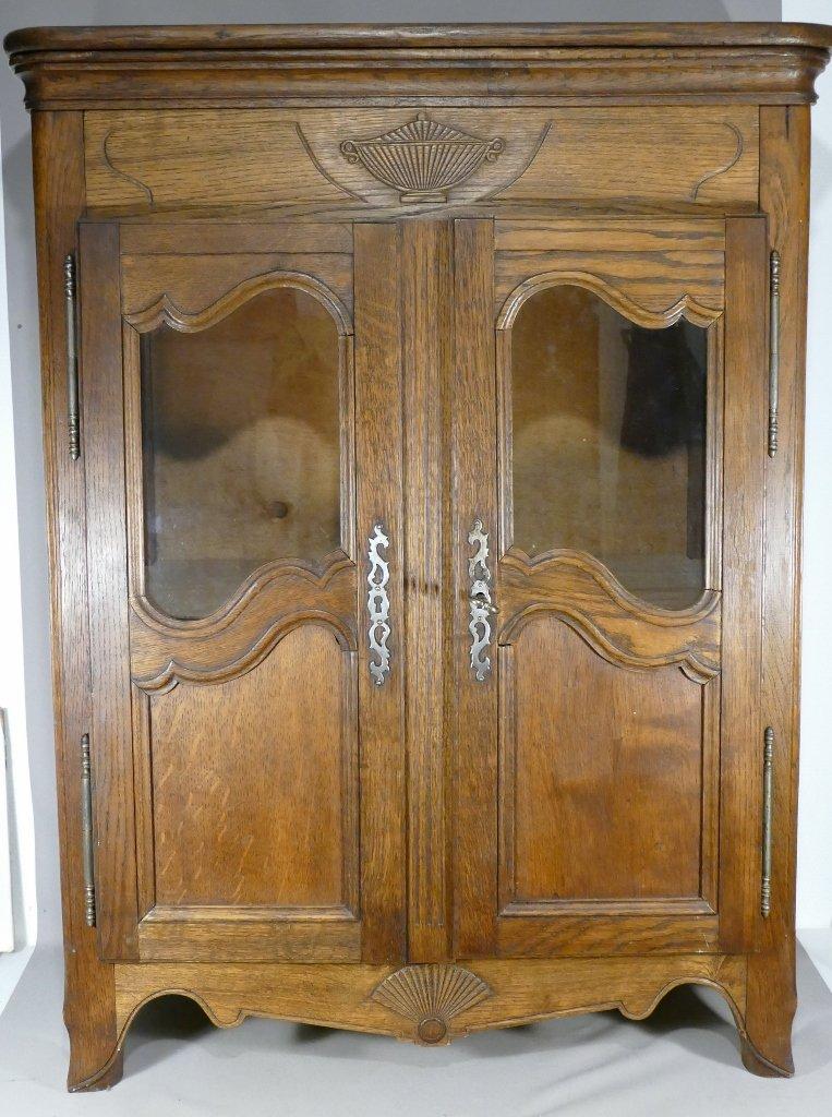 Louis XV Style Miniature Showcase Cabinet, H 96.5 Cm