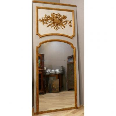 Louis XVI Style Decorator Trumeau From The 60s
