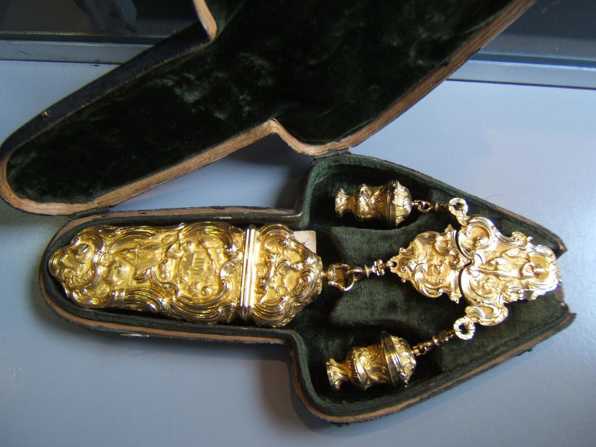 Necessary Case Gold Epoque Eighteenth.