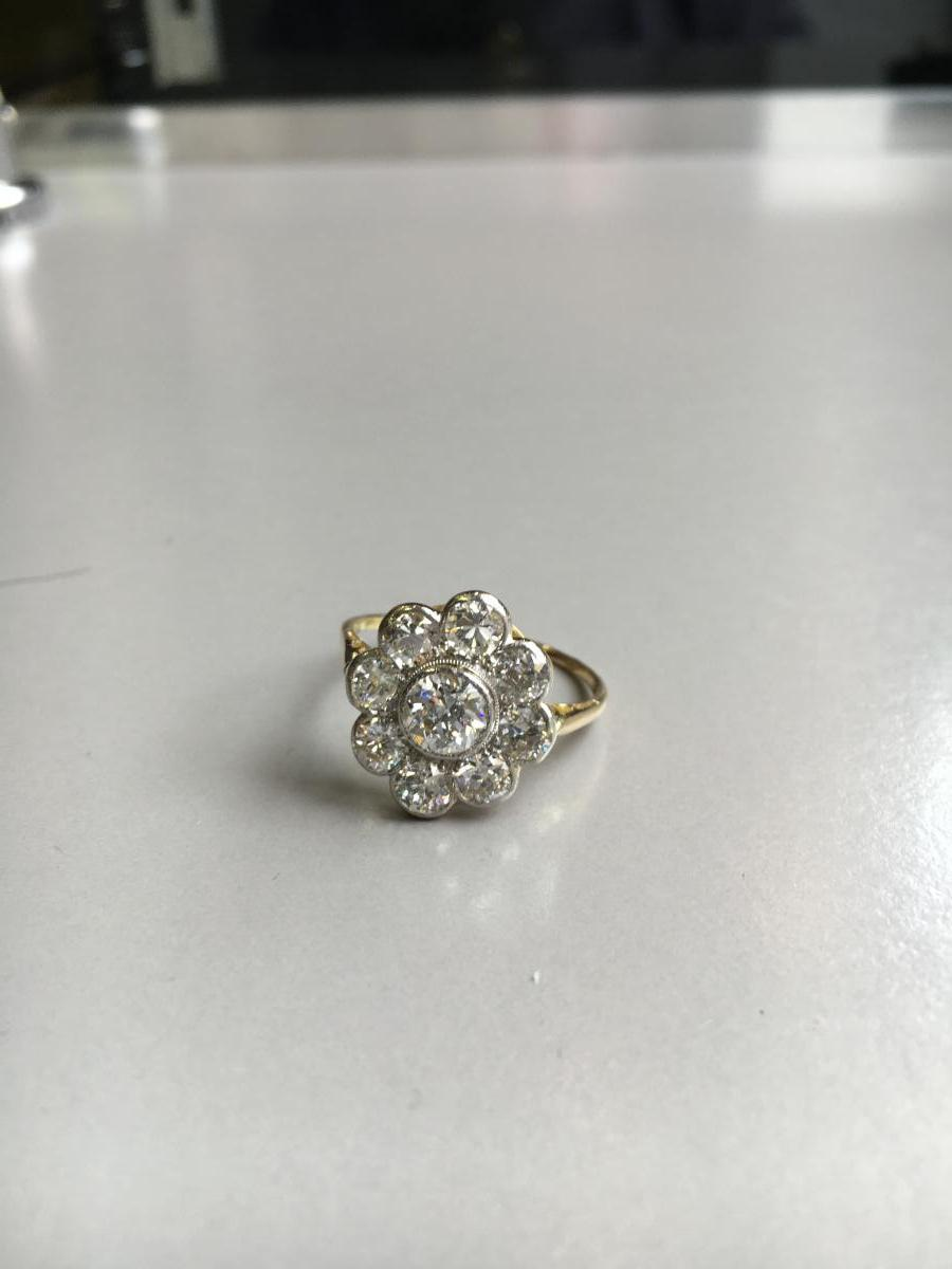 2 Carats Old Diamond Ring.