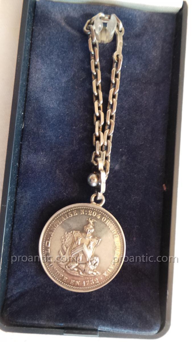 Medaille Loge N° 204 - Ordre De Bordeaux
