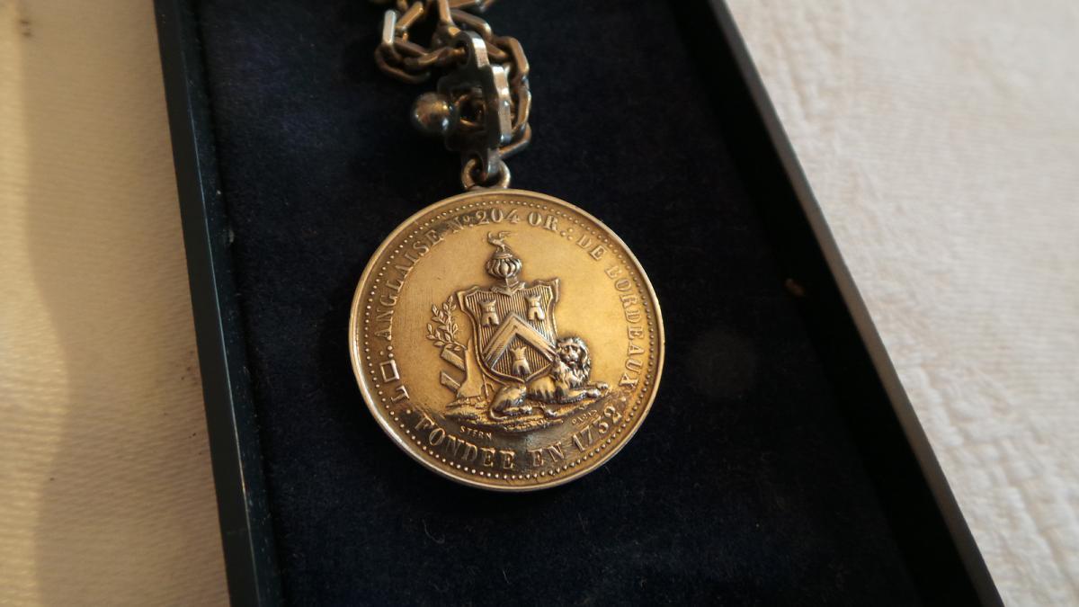 Medaille Loge N° 204 - Ordre De Bordeaux -photo-4