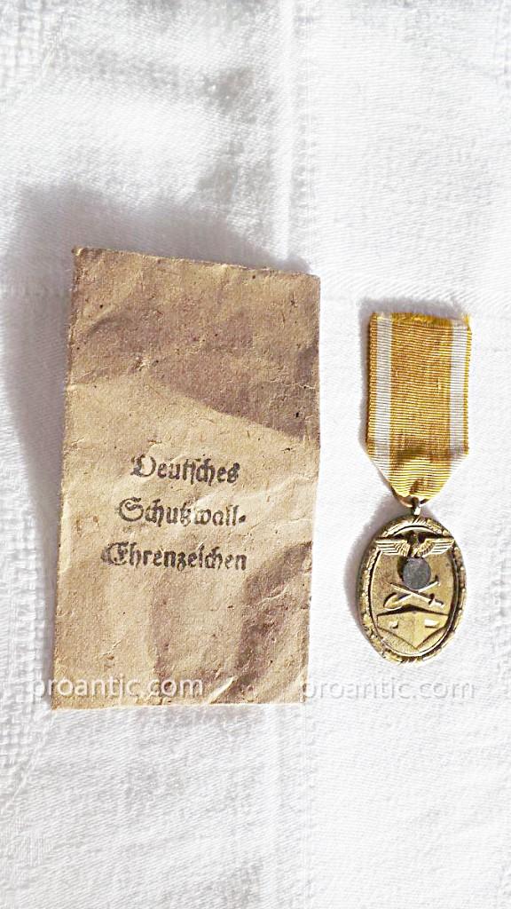 Ww2- Germany- Medaille De Atlantic Wall