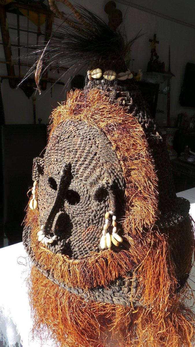 New Guinea - Papua - Dance Headdress Mask -
