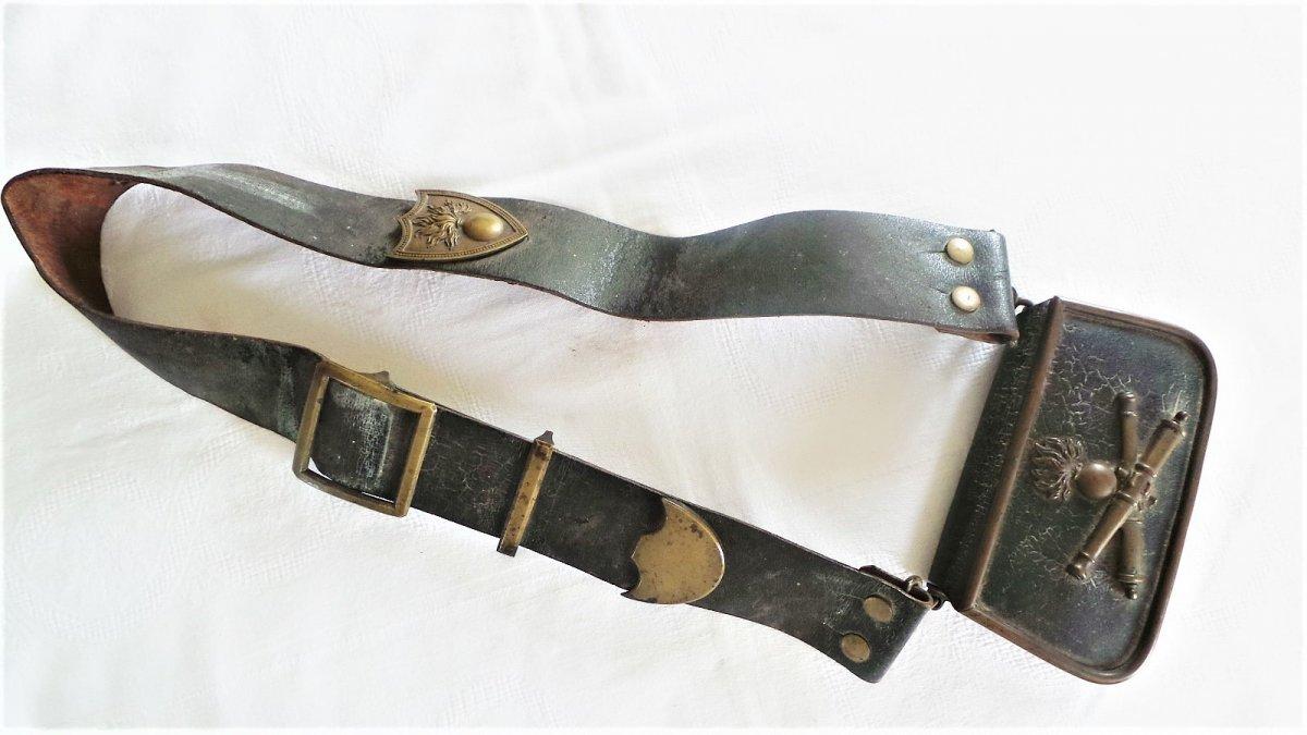 Giberne D Officier D Artillerie - Periode Napoleon III-  XIX°