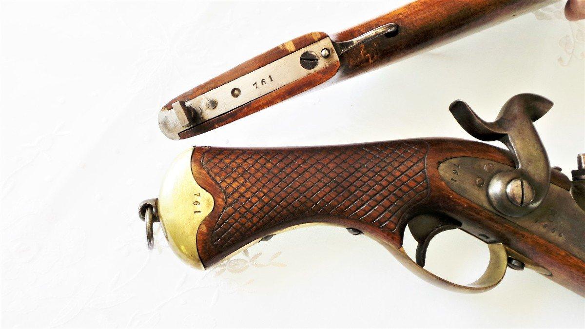 "Swedish Cavalry Gun ""studserpistol"" -m1850-xix °-photo-3"