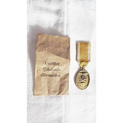 Ww2- Allemagne- Medaille Mur De l'Atlantique