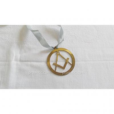 Medaille Pendentif Maconnique
