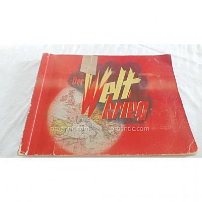 """Album """" Der Welt Krieg """" - Ww1 -allemagne"""